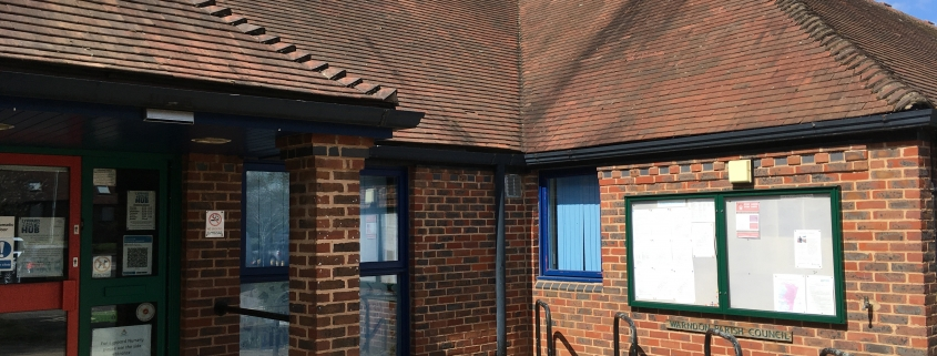 parish noticeboard and lyppard hub